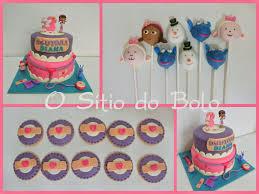 doc mcstuffins cake cake pops and cookies doutora brinquedos em