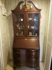 Antique Curio Cabinet With Desk Antique Desks U0026 Secretaries 1900 1950 Ebay