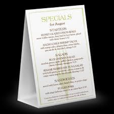 tabletop menu menu templates musthavemenus 90 found