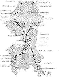 seattle map greenwood the monorail initiative seattle washington usa