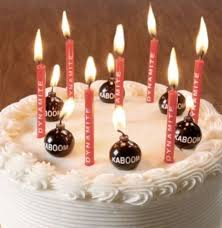 birthday candles birthday candles set of 10