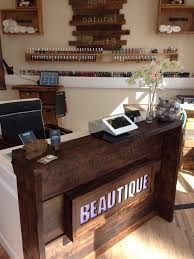 Used Curved Reception Desk Reception Desk Ideas Desk Reclaimed Wood Riverstone Reception