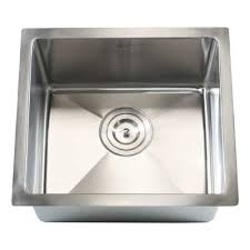 Single Undermount Kitchen Sink by Emodern Decor Ariel 18
