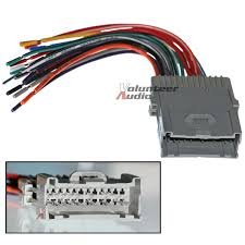 saturn car stereo cd player wiring harness wire aftermarket radio