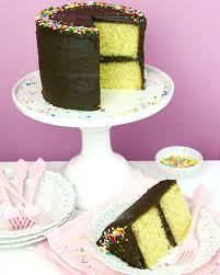 Bestyellow by Video The Best Yellow Birthday Cake With Chocolate Frosting
