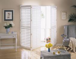 wonderful wooden shutters for patio doors images best