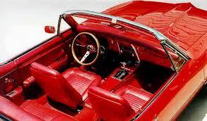 1967 Firebird Interior 1967 Pontiac Firebird Convertible