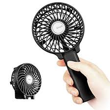 battery operated electric fan easyacc handheld fan mini portable battery operated electric fan