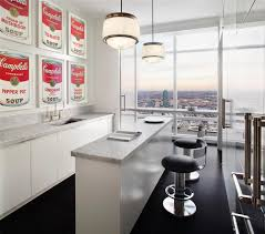 modern dry kitchen trump world tower modern penthouse idesignarch interior design