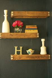 Diy Reclaimed Wood Floating Shelf by Storage U0026 Organization Great Reclaimed Wood Diy Floating Kitchen