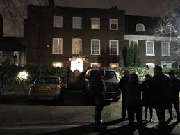george michael house fans gather at singer george michael s highgate home following his