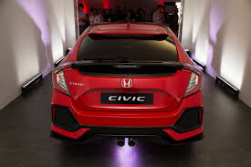 honda civic 2017 2017 honda civic on sale in march priced from 18 235 autocar