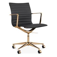 gold desk chair white office chairs gumtree coast used black and
