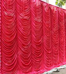wedding backdrop curtains aliexpress buy hotsale wedding backdrop curtain with swag