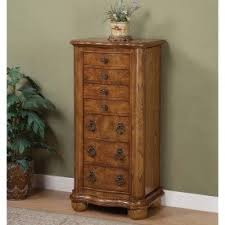 Dresser Top Jewelry Armoire Solid Wood Jewelry Armoires Foter