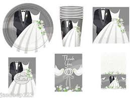 and groom plates silver wedding and groom party tableware decorations plates