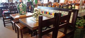 La Casa De Mexico Mexican Restaurant Tables  Chairs - Restaurant dining room furniture