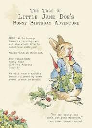 rabbit birthday rabbit birthday invitations cloveranddot