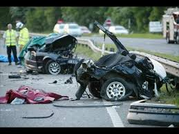indian couple critically injured in a horrific car crash in