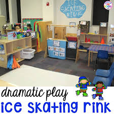 How To Make A Ice Rink In Your Backyard Ice Rink Dramatic Play For Preschool Pre K U0026 Kindergarten