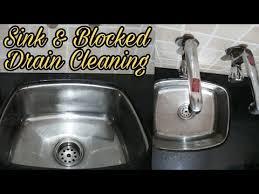 Kitchen Sink Blockage How To Clear Sink Blockage Kitchen Sink And Blocked Drain