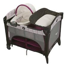 Pink And Brown Graco Pack N Play With Changing Table Graco Pack N Play Newborn Napper Play Yards