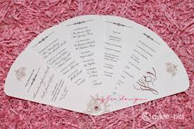 fan shaped wedding programs 27 free wedding program templates you ll