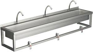 commercial sink sprayer parts commercial sink commercial stainless steel trough sink view larger