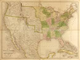 Map Of North America With States by Map Of The United States Of North America With Parts Of The