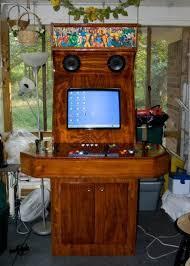 Arcade Barn The Greatest Woody Arcade Machine By Ktmm Krunkthemadman