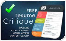 resume critique free resume critique and resume review expert resumes