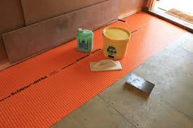 floor preparation for tiling the log house floors ecologhouse