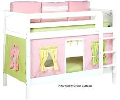 Bunk Bed Tent Only Bunk Bed Tent Bunk Bed Curtains Pink Green Yellow Top Bunk Bed