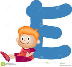 e alphabet letter e boy stock image image 900781