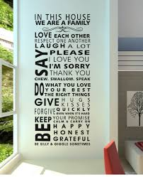 House Rules Design Ideas Aliexpress Com Buy Famous English Family House Rules Quotes
