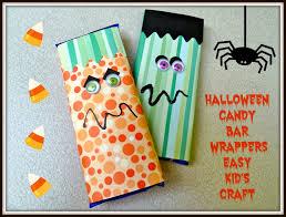 craft halloween ideas make it easy crafts halloween candy bar wrappers kid u0027s craft