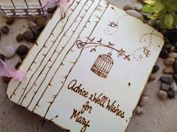 bridal shower guest book bridal shower guest book birdcage bird theme personalized with the