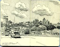san antonio skyline from alamo stadium parking lot flickr