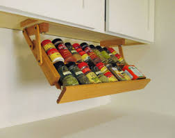 Pull Out Spice Rack Cabinet by Pull Out Spice Rack Can Be Mounted Under Cabinet Or Shelf