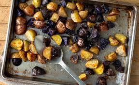 rainbow potato roast recipe nyt cooking