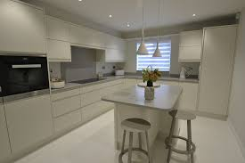 Kitchen Island Units Modern Corian Kitchen Transformation Felixstowe Suffolk