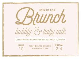 baby brunch invitations baby shower invitations brunch bubbly baby talk at minted
