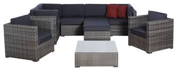 Gray Patio Furniture Sets Inspiration Of Grey Wicker Outdoor Furniture And Gray Outdoor