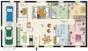 plan de maison plain pied gratuit 3 chambres maison plain pied 1 dé du plan de maison plain pied 1 faire