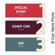 eps vector of admit one cinema ticket csp14426846 search clip