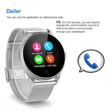 siri bluetooth waterproof smart watch phone mate for android ios