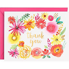 thank you note sets paper source