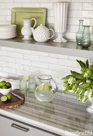 white stone backsplash sea glass tile tiles backsplashes for