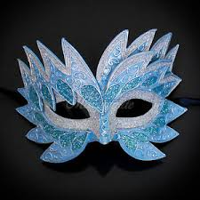 blue masquerade masks sea unicorn mardi gras venetian masquerade mask for women m7240