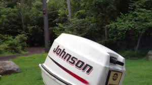 2002 johnson 25 hp outbaord youtube